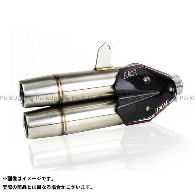 イクシル MT-07 トレーサー700 XSR700 L5X デュアル ヤマハ MT-07(14-18)/トレーサー700(17-18)/XSR700(16-18) フルEX マフラー IXIL