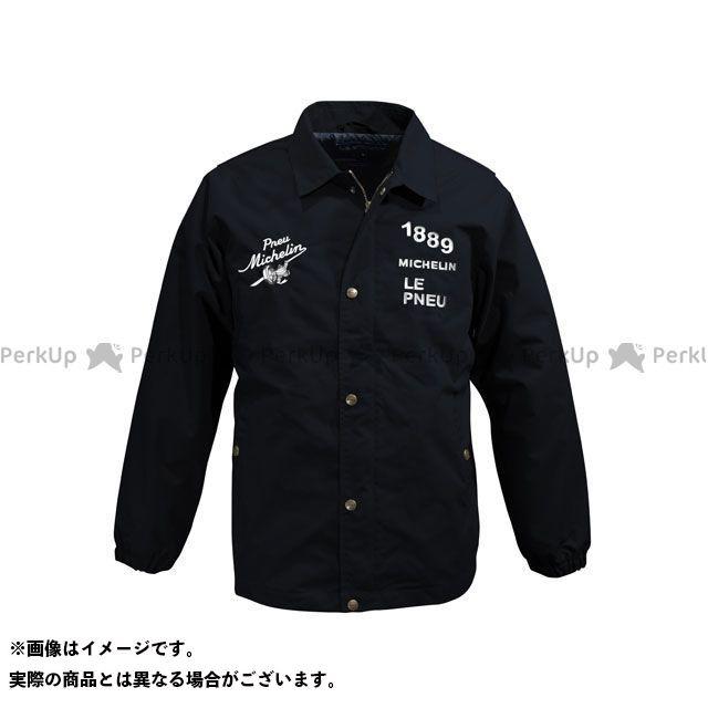 【無料雑誌付き】ミシュラン 2019春夏モデル ML19102S ナイロンジャケット(ブラック) サイズ:L Michelin