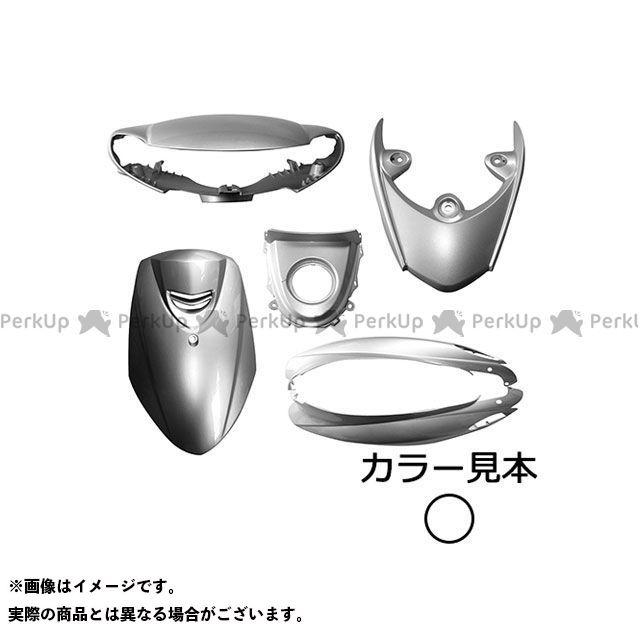 スーパーバリュー ジョグ 外装6点セット 4stジョグ 3P3(SA36/39J) ホワイトメタリック1(0233) ハイマウントカバー付 supervalue
