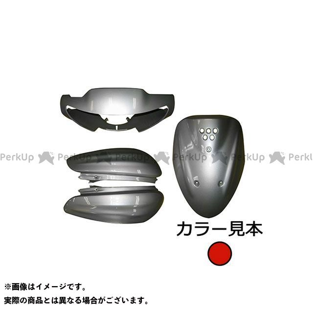 スーパーバリュー ジョグ 外装4点セット YV50 5EM(SA04/12J) ディープパープリッシュレッドカクテル3(0567)