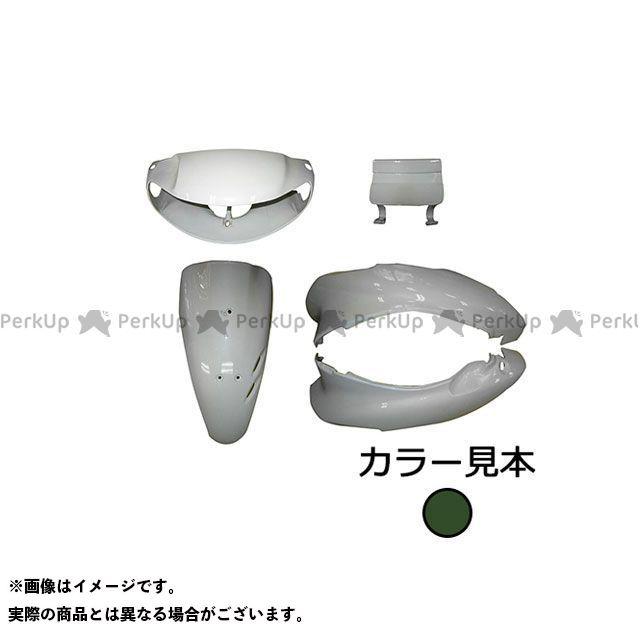 スーパーバリュー ライブディオ 外装5点セット ライブディオ(AF34) I型 タスマニアグリーンメタリック(G-142M)