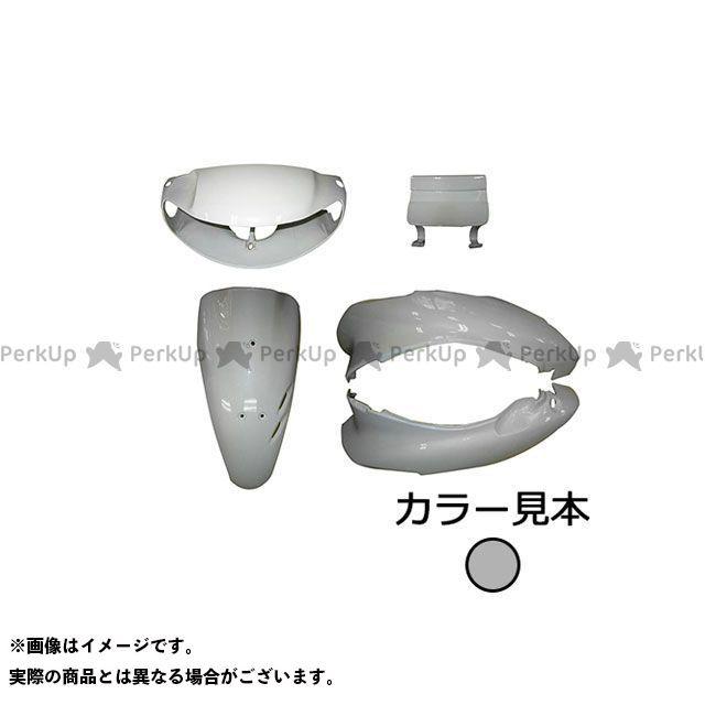 スーパーバリュー ライブディオ 外装5点セット ライブディオ(AF34) I型 ムーンストーンシルバーメタリック(NH-114MU) supervalue