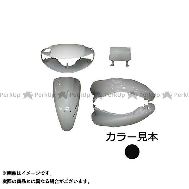 スーパーバリュー ライブディオ 外装5点セット ライブディオ(AF35) II型 ピュアブラック(NH-237P)  supervalue