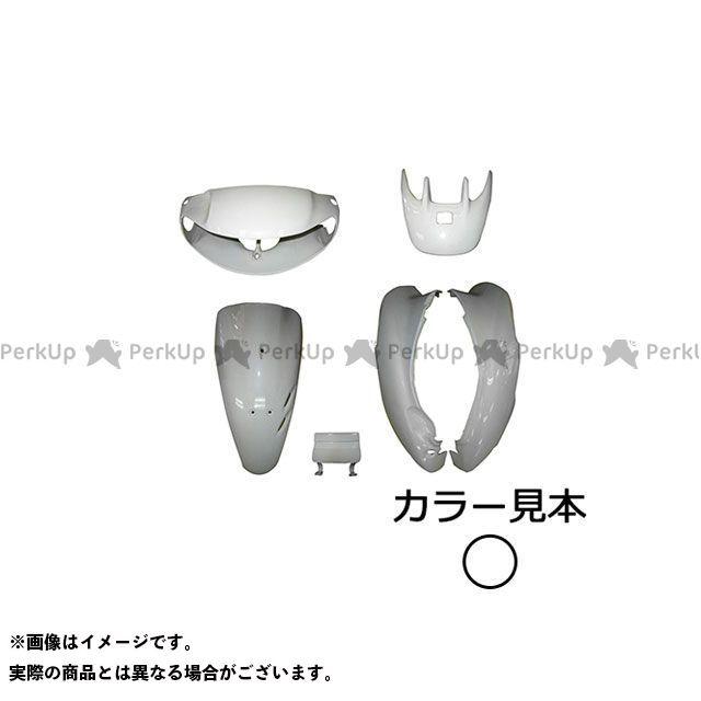 スーパーバリュー ライブディオ 外装6点セット ライブディオ(AF34) II型 パールシーシェルホワイト(NH-198P)