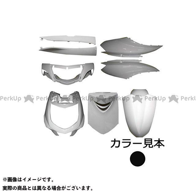 スーパーバリュー シグナスX 外装8点セット シグナスX(SE12J) ブラックメタリックX(0903) supervalue