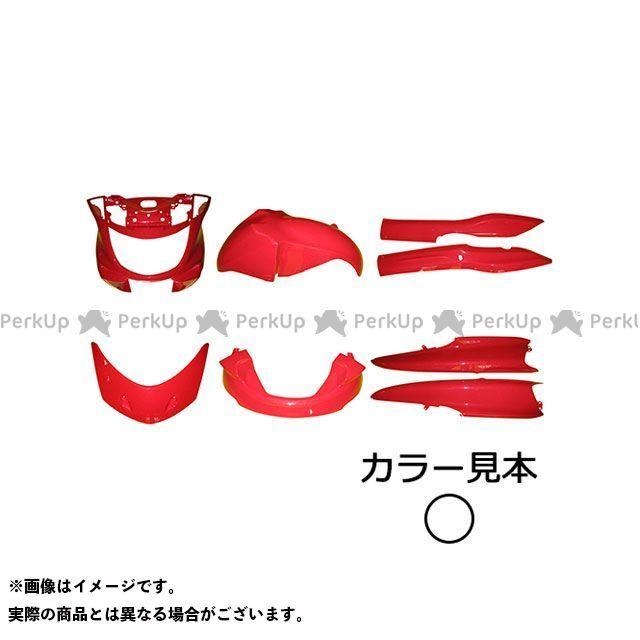 スーパーバリュー マジェスティ 外装8点セット マジェスティ250(SG03J) シルキーホワイト(00GE)  supervalue
