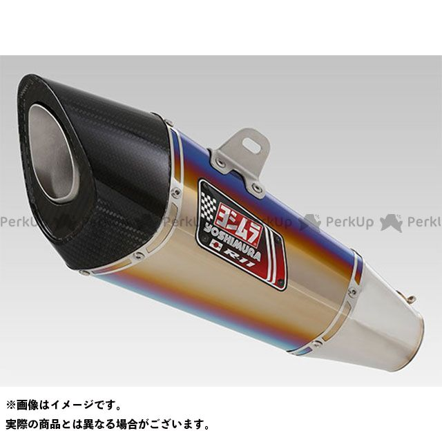 【エントリーで更にP5倍】ヨシムラ カタナ Slip-On R-11 サイクロン 1エンド EXPORT SPEC 政府認証(ヒートガード付属) STB YOSHIMURA