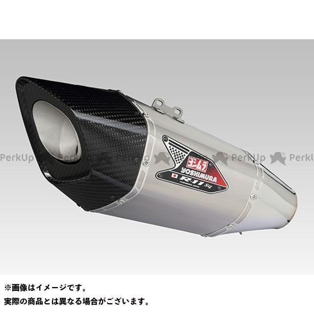 【エントリーで最大P21倍】ヨシムラ カタナ Slip-On R-11Sqサイクロン EXPORT SPEC 政府認証(ヒートガード付属) SSF YOSHIMURA
