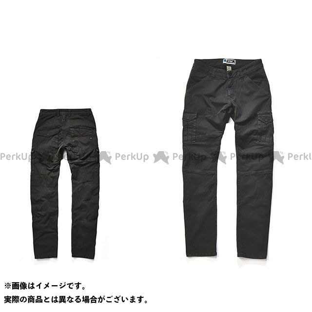 PROmo jeans バイク用カーゴパンツ SANTIAGO/サンティアゴ(ブラック) サイズ:42インチ プロモジーンズ