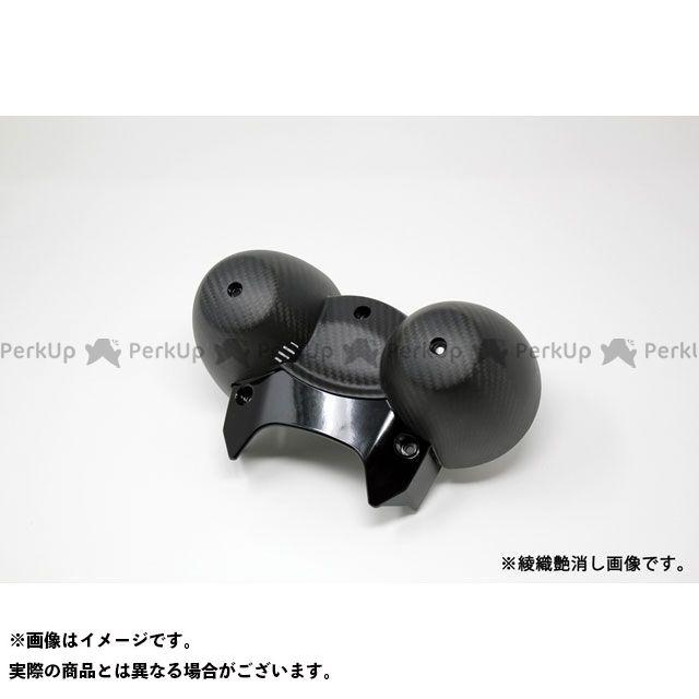 【特価品】SSK Z900RS Z900RSカフェ メーターカバー ドライカーボン 仕様:綾織艶消し エスエスケー