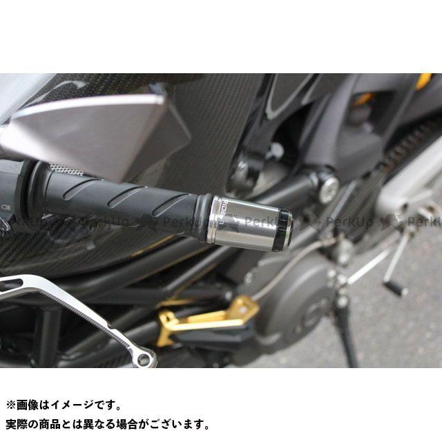 【エントリーで最大P21倍】リデア 汎用 ハンドルバーエンド ロングタイプ カラー:ブラック RIDEA