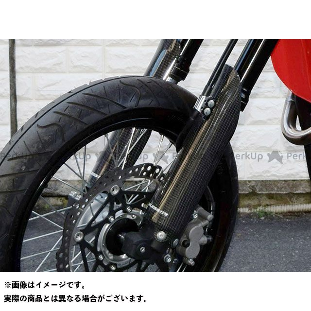 【エントリーで更にP5倍】ブレスアールズ CRF250M カーボン フロントフォークガードカバー カラー:未塗装品 BLESS R'S