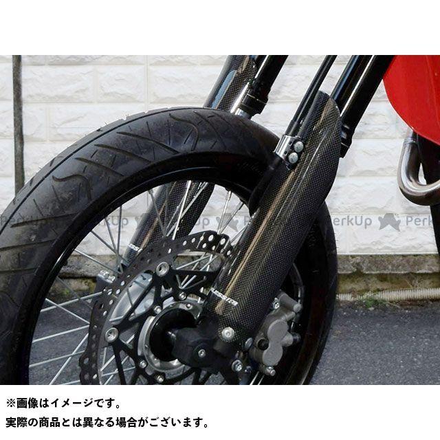 ブレスアールズ CRF250M カーボン フロントフォークガードカバー クリア塗装品 BLESS R'S