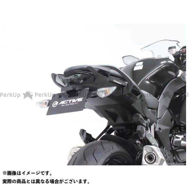 アクティブ ニンジャ1000・Z1000SX フェンダーレスキット(ブラック) LEDナンバー灯付き ACTIVE