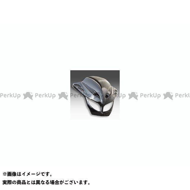 ブレスクリエイション グランドマジェスティ250 グランドマジェスティ400 フロントフェイスカウル カラー:黒 BLESS CREATION