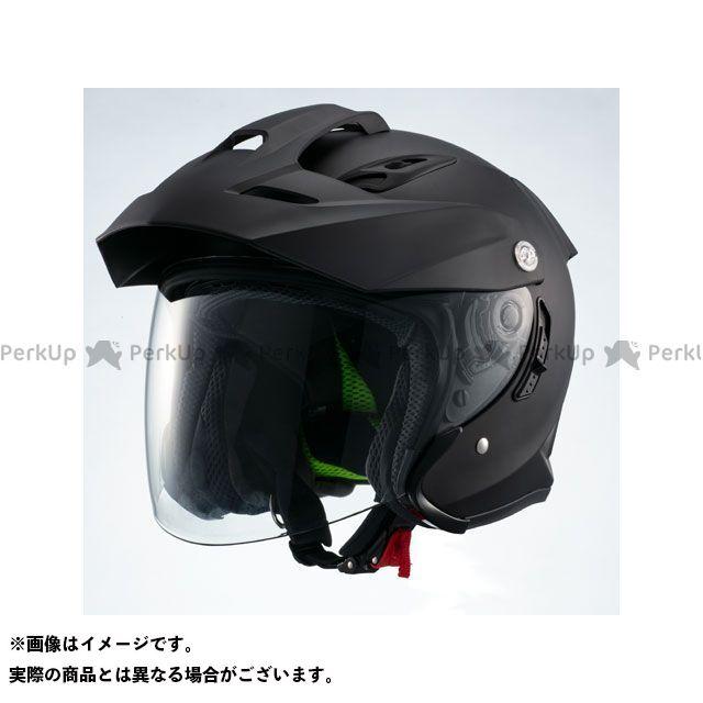 Marushin マルシン インナーバイザー付きジェットヘルメット MSJ1 TE-1(マットブラック) XL