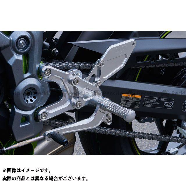 オーバーレーシング Z900 バックステップ 4ポジション(ブラック) OVER RACING