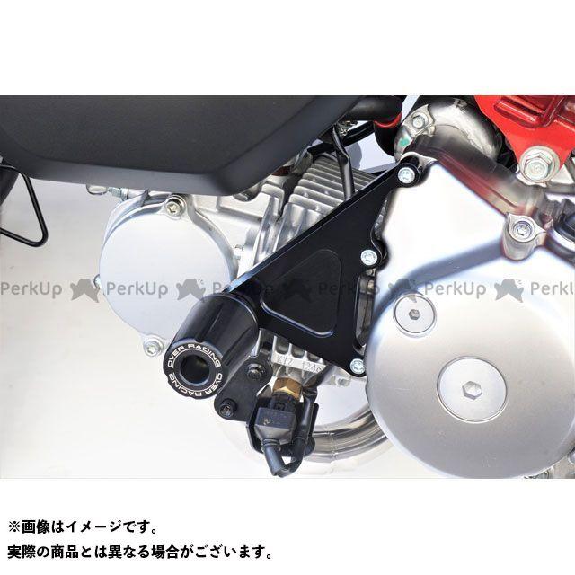 オーバーレーシング モンキー125 エンジンスライダー(ブラック)  OVER RACING