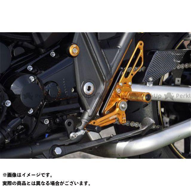 ベビーフェイス ZRX1200ダエグ バックステップキット カラー:ブラック BABYFACE