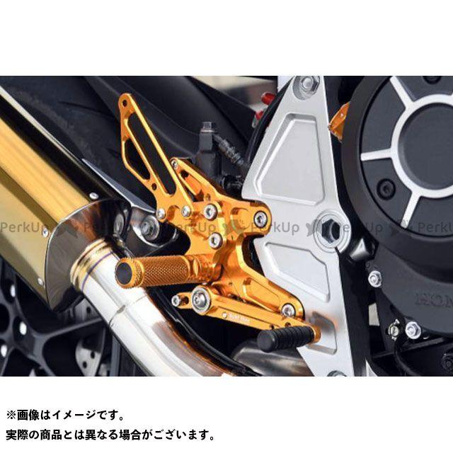 ベビーフェイス CB1000R バックステップキット(シフター有) カラー:ゴールド BABYFACE