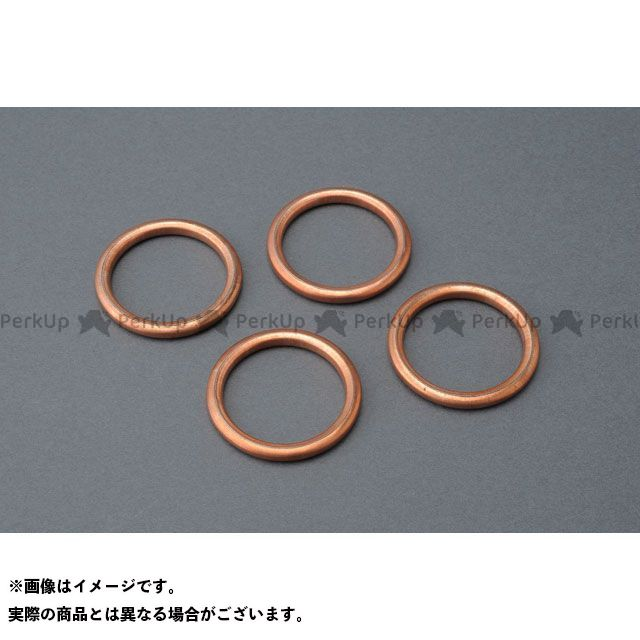 M-TEC中京 M-TEC中京 MRS マフラーガスケット マフラー M-TEC中京 M-TEC中京 MRS エキゾーストガスケットセット(4個セット)