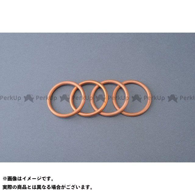 M-TEC中京 M-TEC中京 MRS マフラーガスケット マフラー M-TEC中京 M-TEC中京 MRS エキゾーストガスケットセット(4枚)