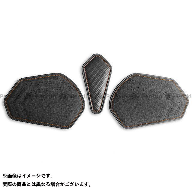 【無料雑誌付き】LUI MOTO CBR600RR タンクリーフ/Sport フルキット カラー:TEC-GRIP/CFブラック/オレンジステッチ