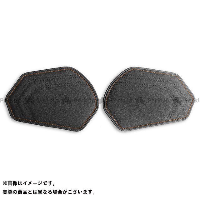 【無料雑誌付き】LUI MOTO CBR600RR タンクリーフ/Sport ニーグリップパッド カラー:TEC-GRIP/CFブラック/オレンジステッチ