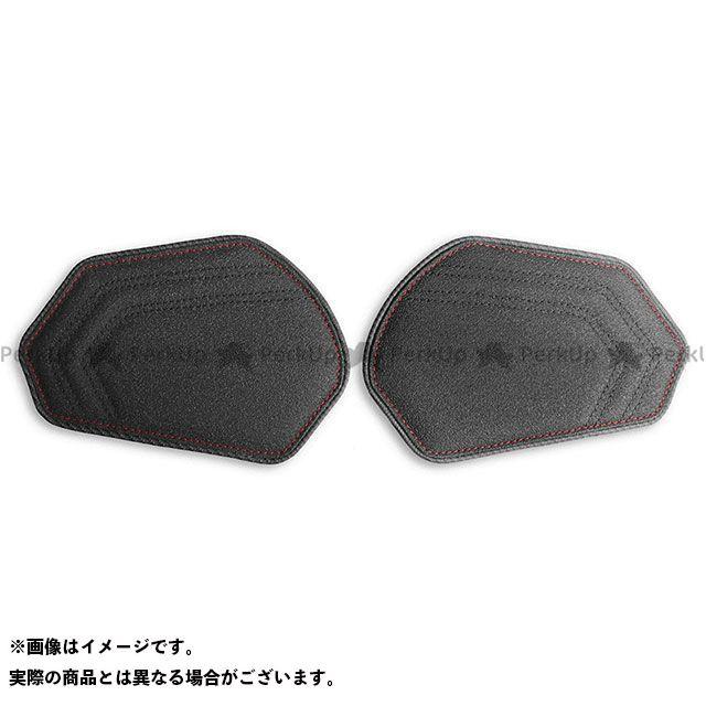 LUI MOTO CBR600RR タンクリーフ/Sport ニーグリップパッド カラー:TEC-GRIP/CFブラック/レッドステッチ