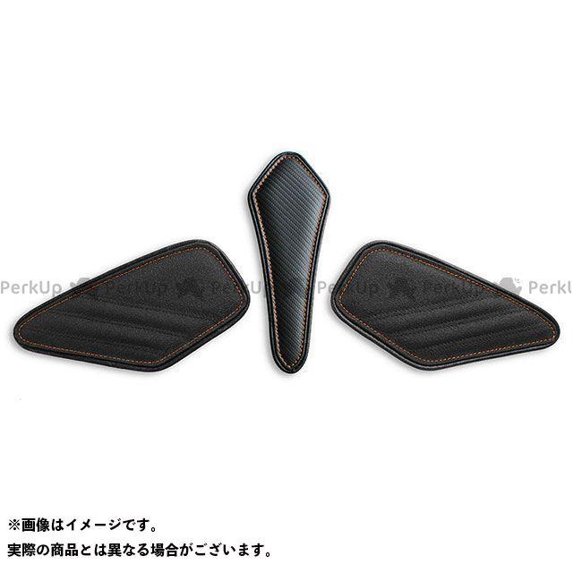 LUI MOTO タンクリーフ/Sport フルキット TEC-GRIP/CFブラック/オレンジステッチ