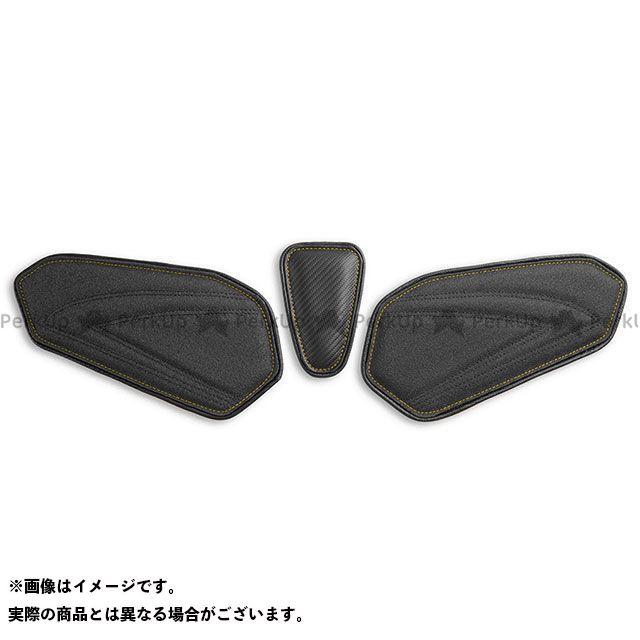 LUI MOTO GSX-R600 GSX-R750 タンクリーフ/Sport フルキット TEC-GRIP/CFブラック/イエローステッチ