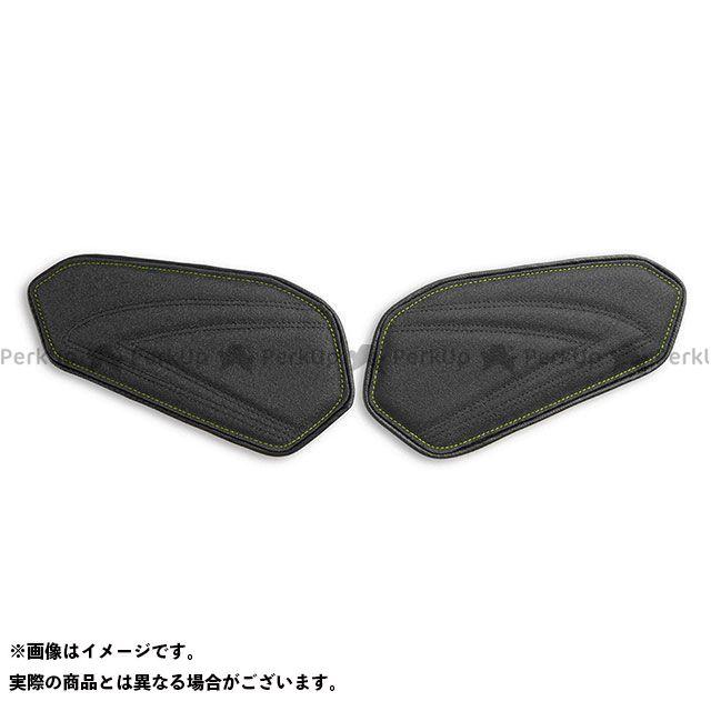 【エントリーで最大P21倍】LUI MOTO GSX-R600 GSX-R750 タンクリーフ/Sport ニーグリップパッド カラー:TEC-GRIP/CFブラック/ネオンステッチ