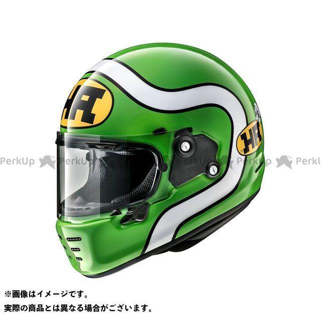 アライ ヘルメット Arai RAPIDE NEO HA(ラパイド・ネオ エイチ・エー) グリーン 61-62cm