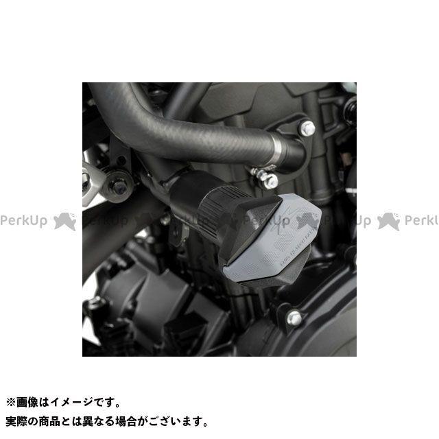 【無料雑誌付き】プーチ MT-03 MT-25 クラッシュパッド R12-TYPE(ブラック) Puig