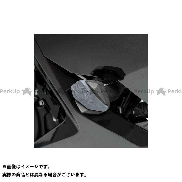 【エントリーで更にP5倍】プーチ ニンジャ250 ニンジャ400 クラッシュパッド R12-TYPE(ブラック) Puig