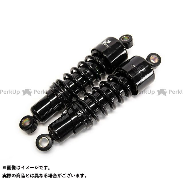 モーターロック GB250クラブマン GB250用 PROGRESSIVE 11インチ ショートサスペンション(ブラック) Motor Rock