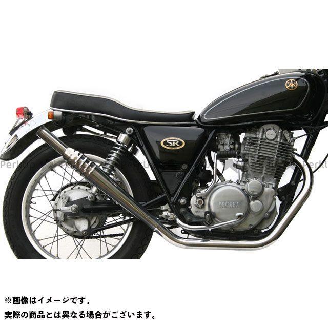 モーターロック SR400 SR500 SR400/500用(FI車) 69トランペット フルエキ 仕様:アップ Motor Rock