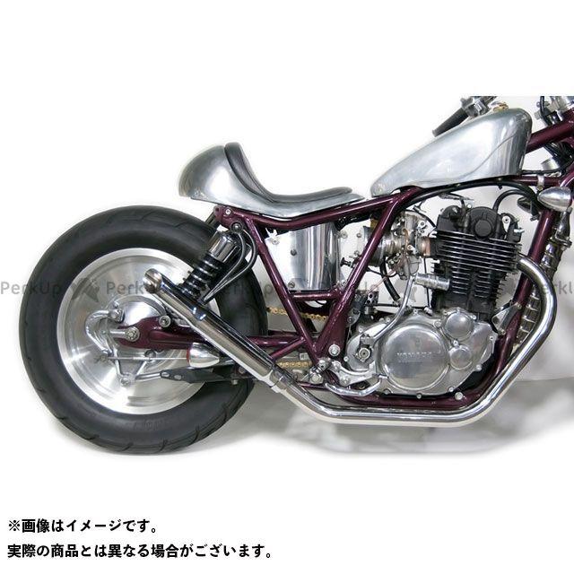 モーターロック SR400 SR500 SR400/500用(FI車) スラッシュカットマフラー フルエキ 仕様:アップ Motor Rock
