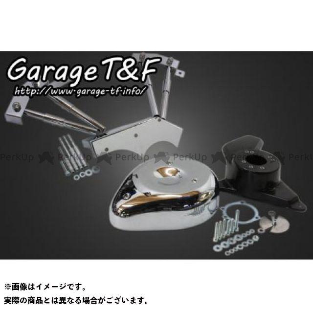 ガレージT&F ドラッグスター1100(DS11) ドラッグスタークラシック1100(DSC11) ティアドロップ&プッシュロッドカバーSET ガレージティーアンドエフ