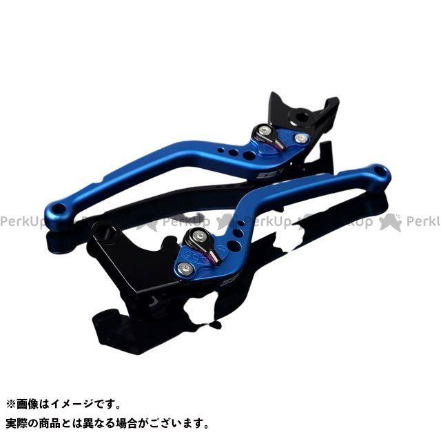 エスエスケー SSK レバー ハンドル 無料雑誌付き YZF-R6 メーカー公式ショップ 日本限定 スタンダードロング アジャスター:マットブラック レバー本体:マットブルー アルミビレットアジャストレバーセット
