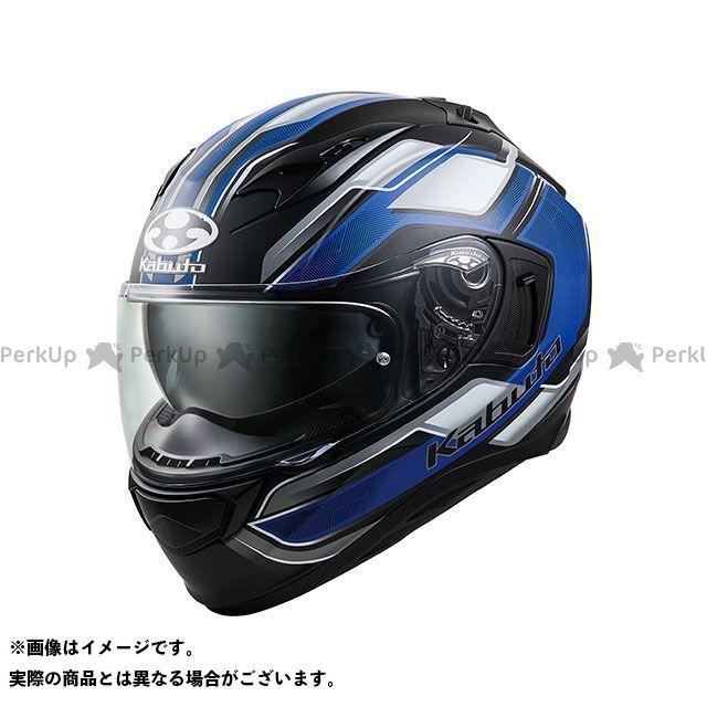 OGK KABUTO KAMUI-III ACCEL(カムイ・3 アクセル) フラットブラック/ブルー S オージーケーカブト