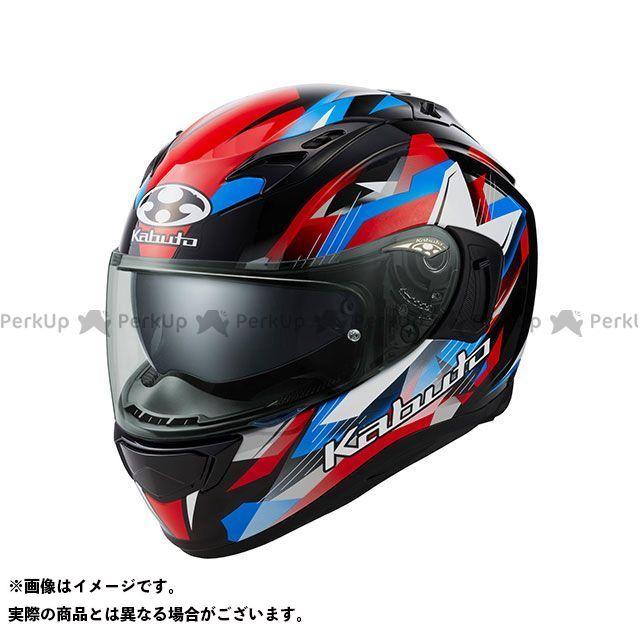 OGK KABUTO KAMUI-III STARS(カムイ・3 スターズ) ブラック/ブルー/レッド XS オージーケーカブト