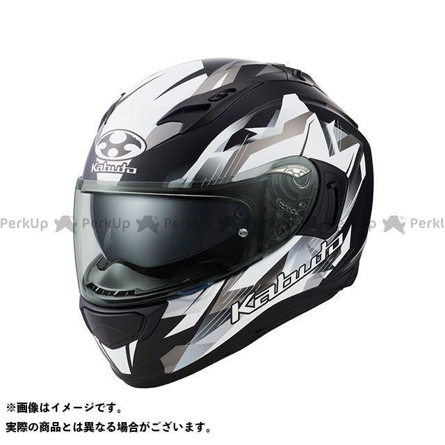 OGK KABUTO KAMUI-III STARS(カムイ・3 スターズ) フラットブラック/シルバー M オージーケーカブト