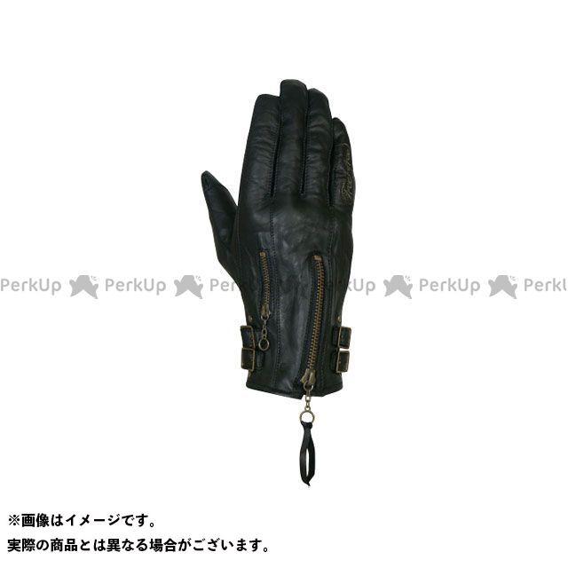 FREE FREE F2G-1508 オイルドレザーグローブ ブラック レディースM フリーフリー