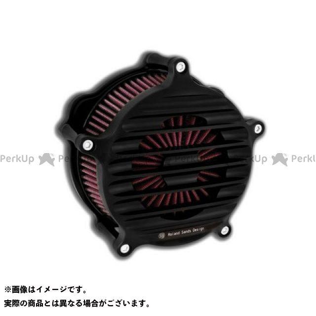 ローランドサンズ ツーリングファミリー汎用 エアクリーナー NOSTALGIA FL用 カラー:ブラック-OPS ROLAND SANDS DESIGN