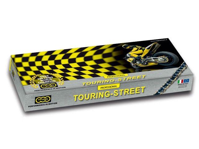 送料無料 レジーナチェーン 汎用 チェーン関連パーツ ツーリング-ストリート ORT2シリーズ Oリングチェーン 520ORT2 120