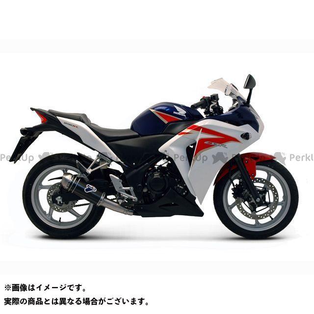 テルミニョーニ CBR250R マフラー本体 HONDA CBR250R(11-13)カーボンスリップオンサイレンサー ステンレス