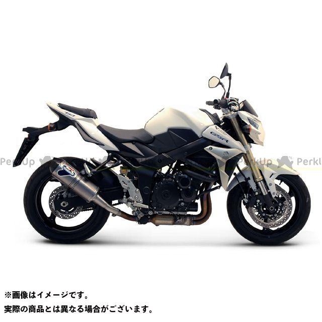 テルミニョーニ GSR750 マフラー本体 SUZUKI GSR750(11-13)スリップオンサイレンサー チタン