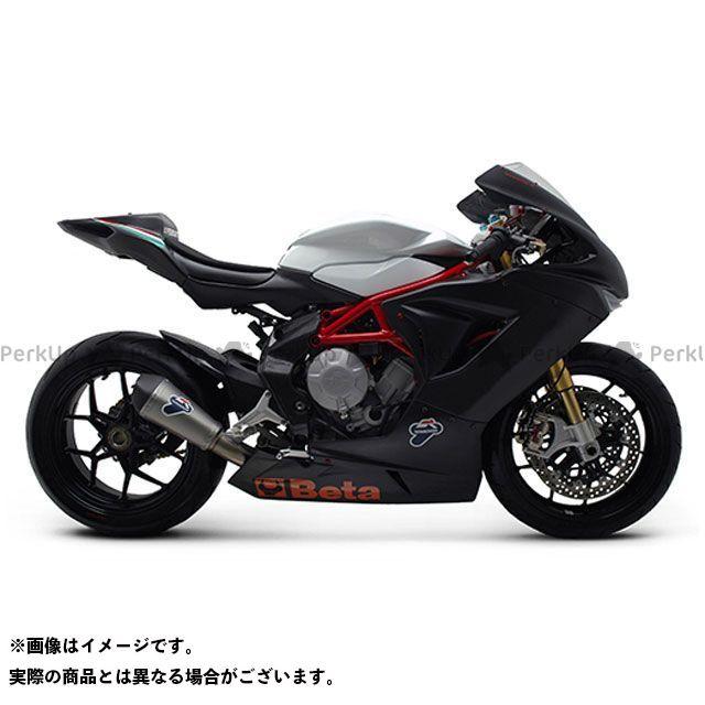 テルミニョーニ F3 675 F3 800 スリップオンサイレンサー 仕様:チタン/ステンレス TERMIGNONI