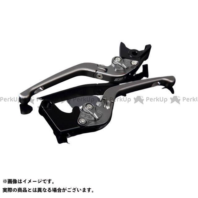 SSK CBR1000RRファイヤーブレード CBR600RR アルミビレットアジャストレバーセット 3D可倒式(レバー本体:マットチタン) アジャスター:マットチタン エスエスケー